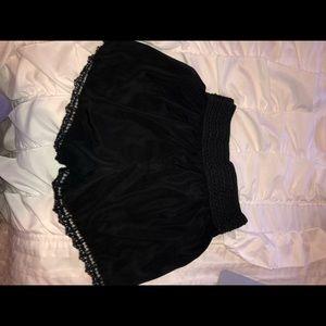 Pants - Black knit shorts!